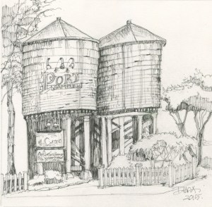 Port Gamble Water Towers