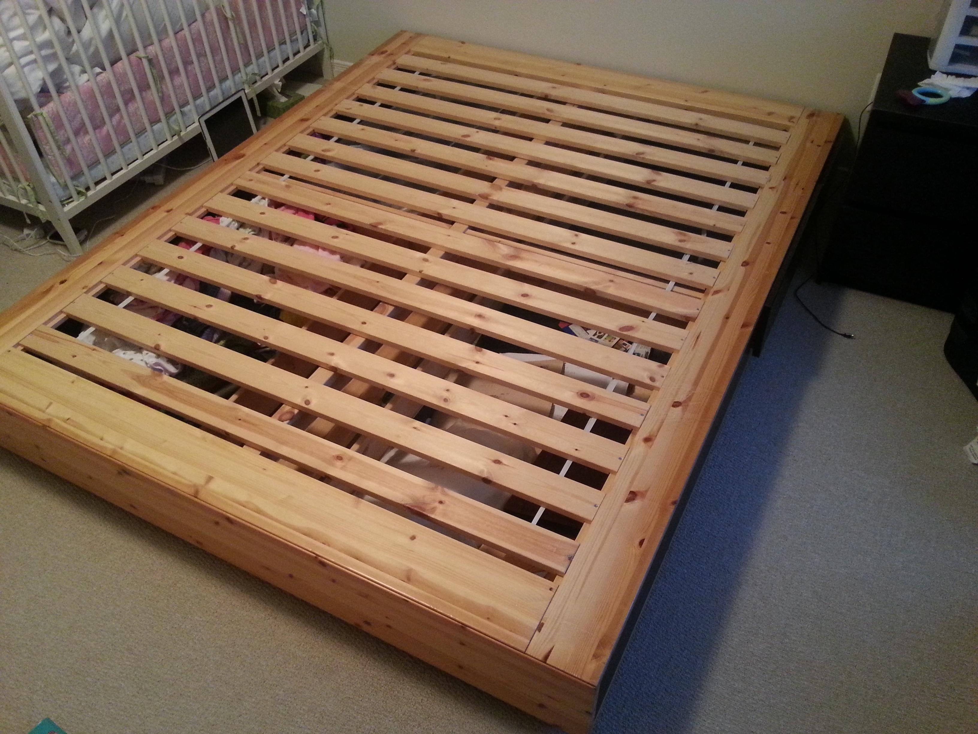 IKEA MANDAL Bed Frame Queen Size Kingston Great Sale