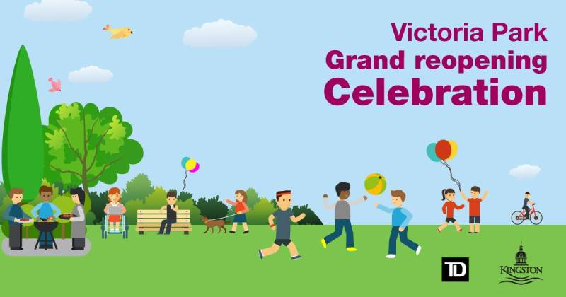 Victoria park grand reopening
