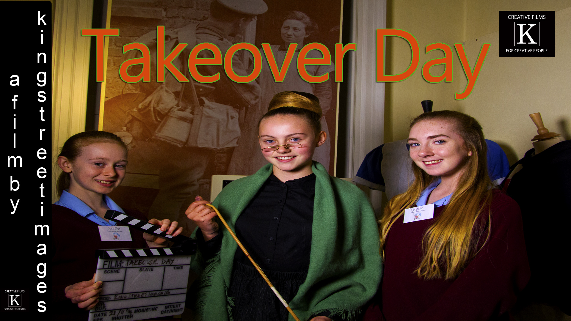 Kids takeover museum for Takeover Day