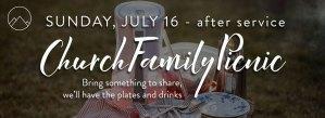 Church Family Picnic Promo Image