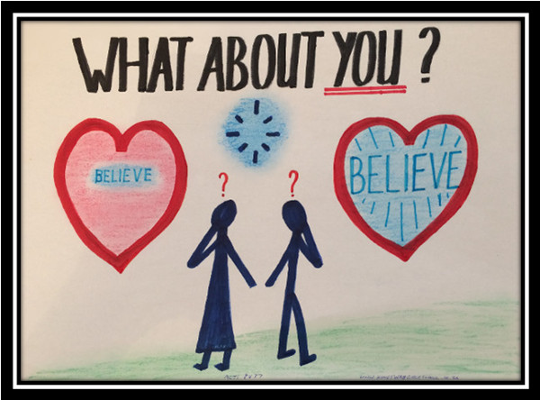 what about you; believe with all of your heart; you must be born again