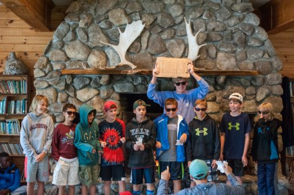 cabin skit funny campers laughing boys summer camp