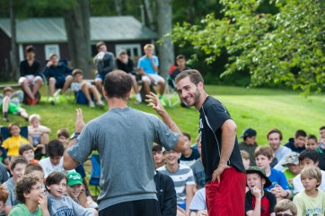 funny laughing acting performances boys summer camp
