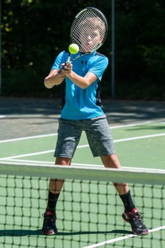 tennis game clinic sports boys summer camp