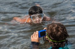 underwater photography clinic water lake sleepaway camp