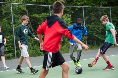 futsal soccer tennis game
