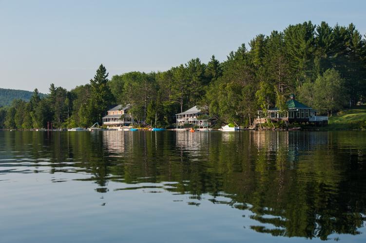 beautiful view lake new england sleepaway camp