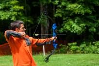 archery clinic bows arrows summer camp