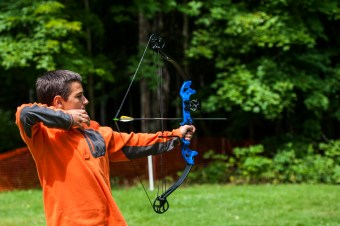 archery clinic bows arrows summer camp