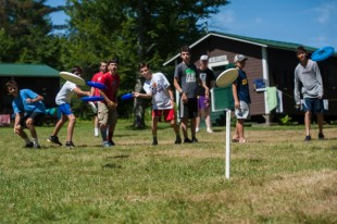 Frisbee clinic