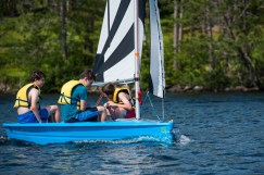 sailing lake water new hampshire mountains nature beautiful sleepaway camp