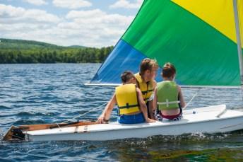 Junior sailing with a CIT