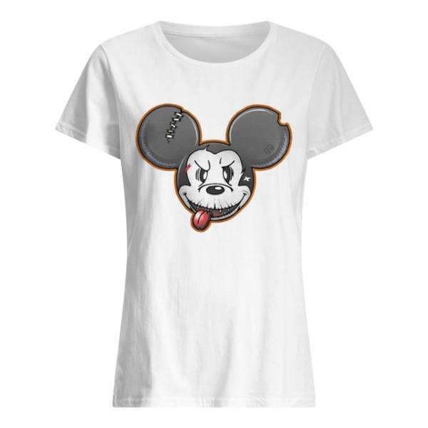 Halloween Mickey Mouse Shirt Classic Women's T-shirt