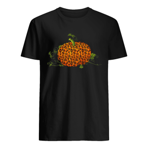 Animal Leopard Pumpkin Fall Autumn Halloween Gift T-Shirt Classic Men's T-shirt