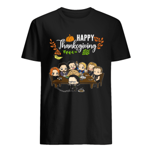 Avengers chibi characters happy thanksgiving  Classic Men's T-shirt