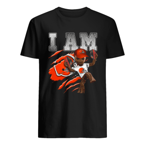 Baby Groot I Am Cleveland Browns  Classic Men's T-shirt