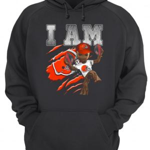 Baby Groot I Am Cleveland Browns  Unisex Hoodie