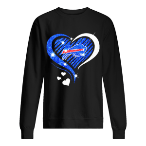 Buffalo Bills Diamond heart  Unisex Sweatshirt