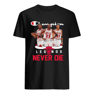 Chicago Bulls Champion Legends Never Die Dennis Rodman  Classic Men's T-shirt