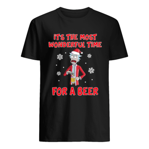Rick Sanchez It's the most wonderful time for a beer  Classic Men's T-shirt