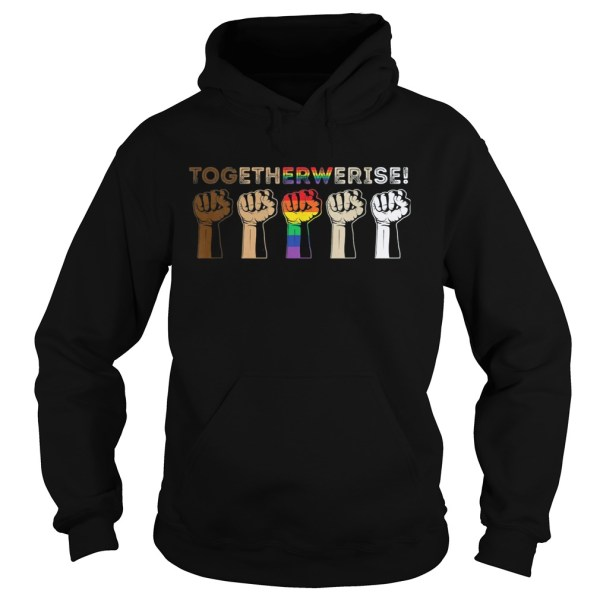 Lgbt juneteenth to get the we rise  Hoodie