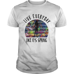 Live everyday like its spring tattoos  Unisex