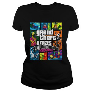 Grand Theft Xmas Halloween Town  Classic Ladies