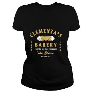 Clemenzas bakery leave the gun take the cannoli the bronx New York City shirt