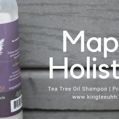 Maple Holistics Tea Tree Oil Shampoo | Product Review