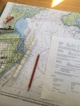 Marine chart.