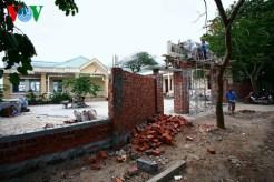 Trường mầm non An Vĩnh 2, hoàn thành xây dựng năm 2012, nay lại được xây thêm cổng rào