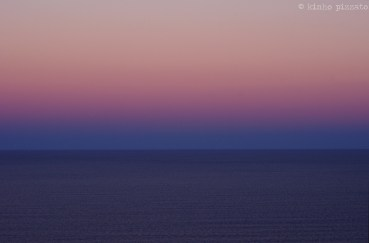 cold coast sunset