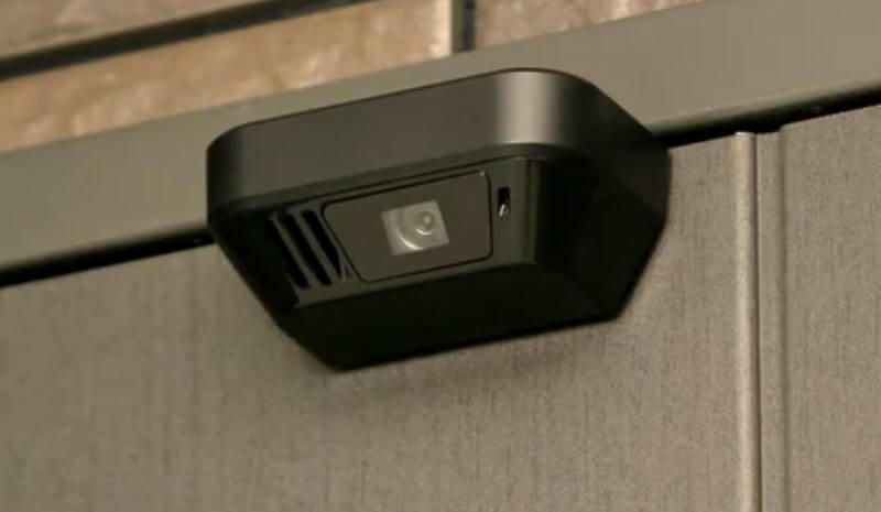 監視できるドアモニターの画像
