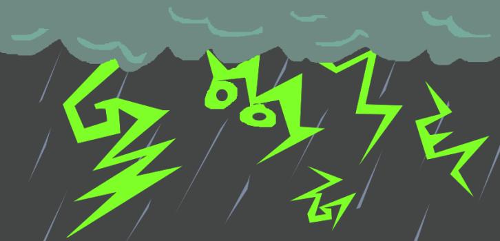 雷雨の如くGoogleの影響を受ける