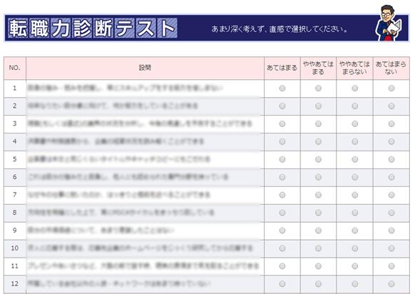 @typeの転職力診断テスト