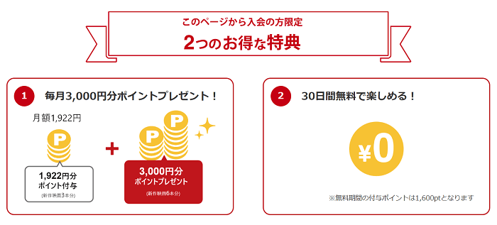 music.jpの限定特典