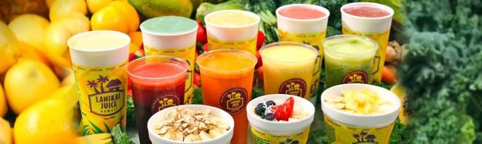 Lanikai Juice(ラニカイ ジュース)の「スムージー(Smoothies)」