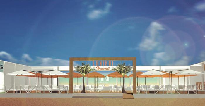 明日7月13日から須磨ビーチに海の家「Lanikai Hawaii(ラニカイ ハワイ)」がオープン予定!