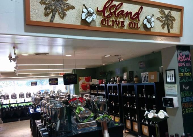 Island Olive Oil Ward Centre(アイランド・オリーブオイル・カンパニー ワード・センター店)