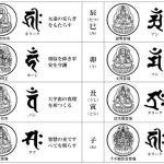 新年のお守り 梵字のお守りをみるとワクワクしてしまいます。