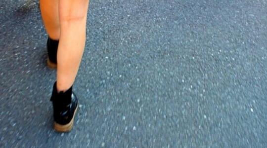 靴 泥はね