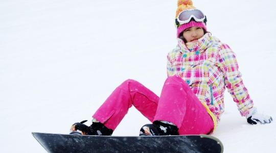 奥神鍋スキー場 スノーボード