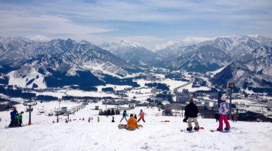 家族 スキー旅行