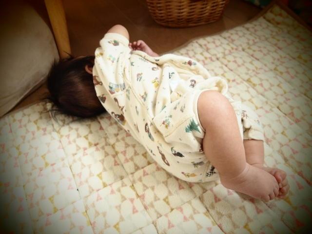赤ちゃん 寝返り 吐く