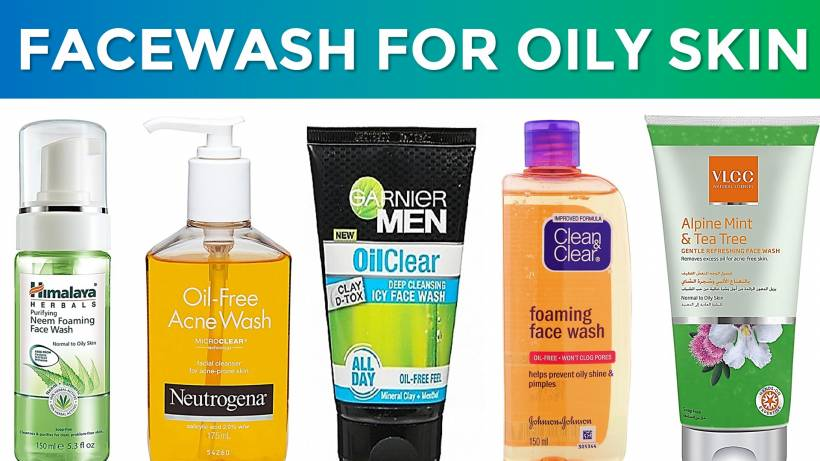 10 Best Facewash For Oily Skin Acne Prone Skin In India