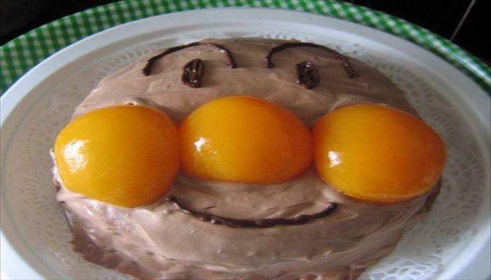 こどもの日 手作りケーキ アンパンマン