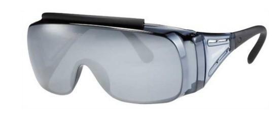 紫外線サングラス レンズの形