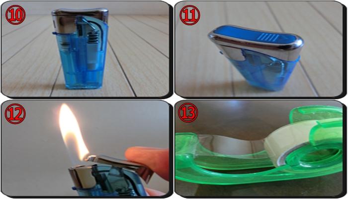 ライター捨て方 ガス抜き方法5