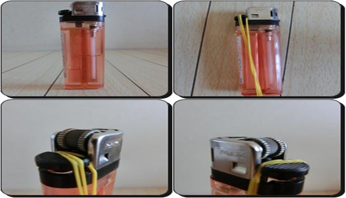ライター捨て方 ガス抜き方法4